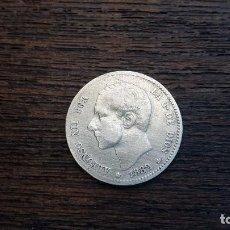 Monedas de España: MONEDA PLATA 1 PESETA ALFONSO XII 1882. Lote 89852660