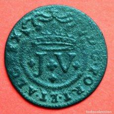 Monnaies d'Espagne: 5 REIS 1717 JOAO V PORTUGAL. MUY ESCASOS. Lote 89852844