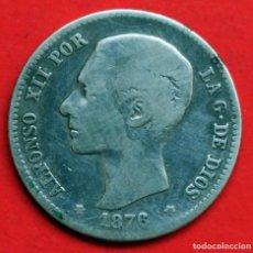 Monedas de España: 1 PESETA 1876 DE M ALFONSO XII. Lote 90110468