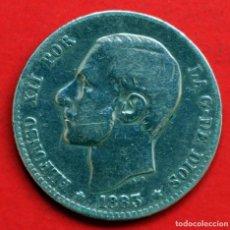Monedas de España: 1 PESETA 1883 (*83) MS M ALFONSO XII. ESCASA. Lote 90110908
