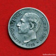 Monedas de España: 50 CENTIMOS 1880 (8*0*) MS M ALFONSO XII. Lote 90116824