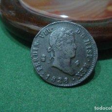 Monedas de España: 1828 SEGOVIA - 4 MARAVEDÍS - FERNANDO VII - SPANISH COIN. Lote 90176932