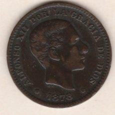 Monedas de España: ALFONSO XII- 5 CENTIMOS- 1878-SC-. Lote 90223028