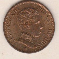 Monedas de España: ALFONSO XIII- 1 CENTIMO-1906*6 SLV-SC. Lote 90223092