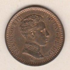 Monedas de España: ALFONSO XIII- 2 CENTIMOS- 1904*04-SMV-SC. Lote 90223208