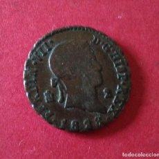 Monedas de España: FERNANDO VII. 2 MARAVEDÍS DE 1828. SEGOVIA.. Lote 174167559