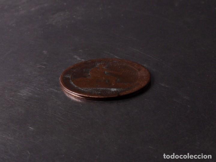 Monedas de España: 5 CÉNTIMOS MONEDA DE COBRE CINCO GRAMOS 1870 - Foto 2 - 90992730