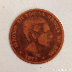 Monedas de España: MONEDA DE ALFONSO XII DE DIEZ CENTIMOS 1879. Lote 91737340