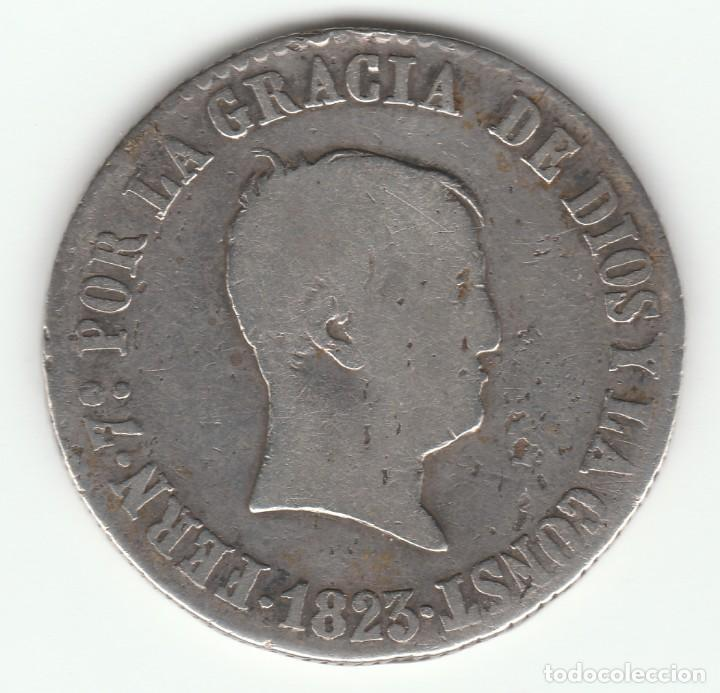 FERNANDO VII- 4 REALES- 1823 (Numismática - España Modernas y Contemporáneas - De Reyes Católicos (1.474) a Fernando VII (1.833))
