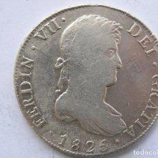 Monedas de España: FERNANDO VII. 8 REALES. POTOSI.1825. Lote 93142850