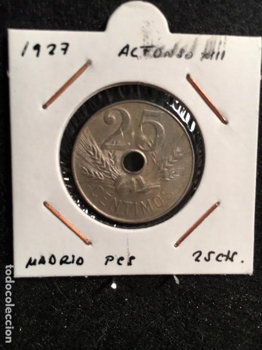 25 CTS 1927 MADRID PCS (Numismática - España Modernas y Contemporáneas - De Isabel II (1.834) a Alfonso XIII (1.931))