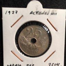 Monedas de España: 25 CTS 1927 MADRID PCS. Lote 93322150