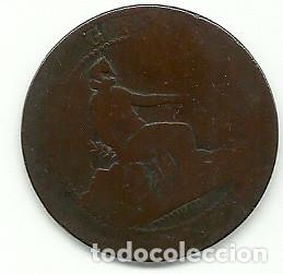 GOBIERNO PROVISIONAL - 10 CENTIMOS 1870 (Numismática - España Modernas y Contemporáneas - De Isabel II (1.834) a Alfonso XIII (1.931))