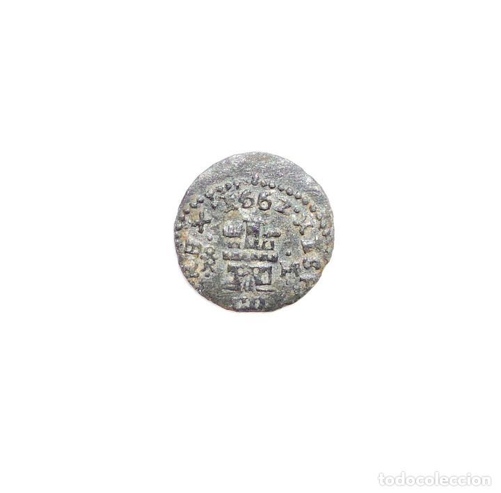 Monedas de España: Felipe IV - 4 Maravedis 1662 Trujillo M. - MBC - Foto 2 - 94020420
