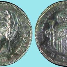 Monedas de España: MONEDA 5 PESETAS AMADEO I - 1871 *18 *74. REV. DEM.CONSERVACIÓN MBC+ VISIBLE ESTRELLAS Y PLUS. PLATA. Lote 94428090