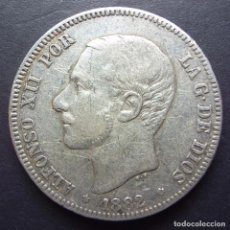 Monedas de España: 2 PESETAS DE 1882*18-82 ••• MBC ••• ALFONSO XII. Lote 84853508