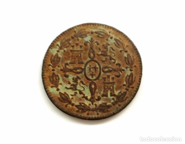 Monedas de España: MONEDA 4 MARAVEDIS CARLOS III 1773 - Foto 2 - 94709035