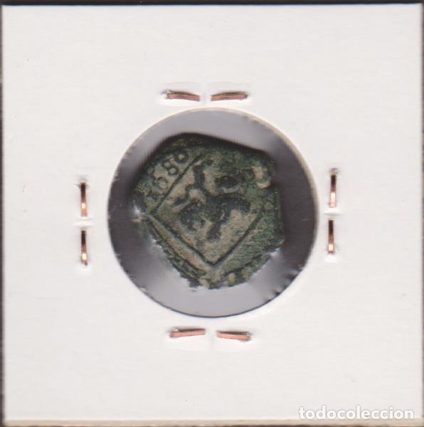 Monedas de España: MONEDAS - CARLOS II - 2 MARAVEDIS 1680 - CUENCA - CCT-729 - Foto 2 - 95038851