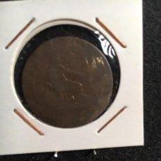 Monedas de España: 1870 GOBIERNO PROVISIONAL 10 CTS BARCELONA OM. Lote 95108023