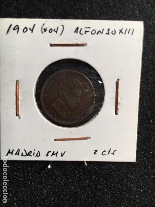 2 CTS 1904 * 04 ALFONSO XIII MADRID SMV (Numismática - España Modernas y Contemporáneas - De Isabel II (1.834) a Alfonso XIII (1.931))