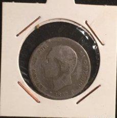 Monedas de España: 2 PTAS 1882 M.S.M. (PLATA). Lote 95331559