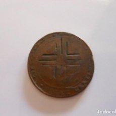 Monedas de España: MONEDA RESELLADA RESELLO 10 CENTIMOS 1870. Lote 95332023
