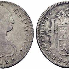 Monedas de España: 8 REALES CARLOS IIII 1802 MEXICO F.T.. Lote 95882455