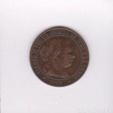 Monedas de España: MONEDAS - ISABEL II - 2 1/2 CTS. DE ESCUDO 1868 - SEGOVIA - CCT-634. Lote 280956368