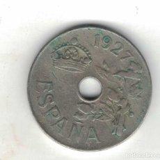 Monedas de España: ANFONSO XIII 25 CENTIMOS 1927 M82. Lote 96261931