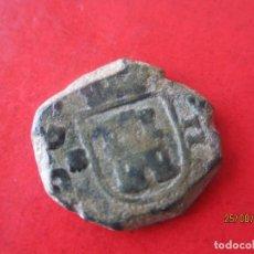 Monedas de España: CARLOS II.- 2 MARAVEDIES. 1696 CORUÑA. Lote 96306635
