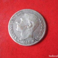 Monedas de España: ALFONSO XII 50 C. DE PESETA. 1885. *8-6. MSM. Lote 96539263