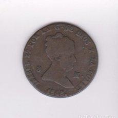 Monedas de España: MONEDAS - ISABEL II - 8 MARAVEDIS 1848 - SEGOVIA - CCT-494. Lote 96735423