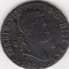 Monedas de España: FERNANDO VII: 8 MARAVEDIS 1829/7 SEGOVIA. Lote 97265471