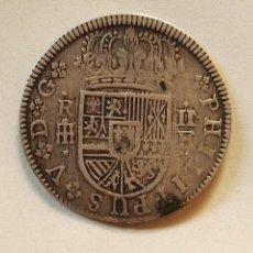 Monedas de España: 2 REALES FELIPE V, SEGOVIA 1721, 5,13GRM, PLATA. Lote 97329267