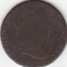 Monedas de España: FERNANDO VII: 8 MARAVEDIS 1828 SEGOVIA - ESCASA. Lote 97345303