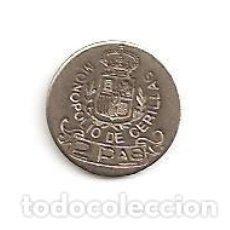 Monedas de España: CURIOSIDAD MUY ESCASA MONOPOLIO DE CERILLAS ALFONSO XII VALOR 2 PESETAS (PLATA). EBC++. Lote 97370203
