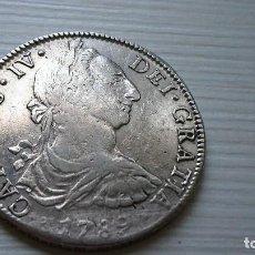 Monedas de España: 8 REALES CARLOS IV CON BUSTO CARLOS III 1789. VER FOTOS. Lote 97519047