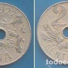 Monedas de España: 25 CÉNTIMOS 1927. Lote 97528391