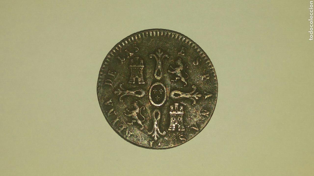 8 MARAVEDÍS 1847 ISABEL II MUY BONITA (Numismática - España Modernas y Contemporáneas - De Isabel II (1.834) a Alfonso XIII (1.931))