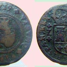 Monedas de España: 4 MARAVEDIS DE FELIPE V CECA ZARAGOZA 1719. Lote 97974779