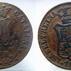 Monedas de España: 6 CUARTOS ISABEL II CECA BARCELONA 1838. Lote 97975531
