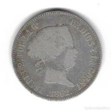 Monedas de España: MONEDA. ISABEL II. 10 REALES. 1862. MADRID. Lote 98431799