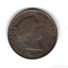 Monedas de España: MONEDA. ISABEL II. 25 CENTIMOS DE REAL. 1860. S/C.. Lote 98431875