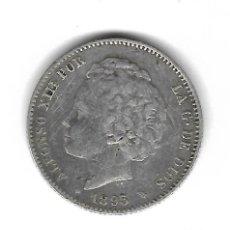Monedas de España: MONEDA. ALFONSO XIII. 1 PESETA. 1893. P.G.V. Lote 98432063