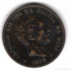 Monedas de España: MONEDA. ALFONSO XII. 10 CENTIMOS. 1878.. Lote 99338355