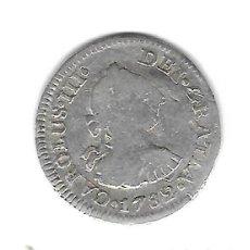 Monedas de España: MONEDA. CARLOS III. 1/2 REAL. 1782. MEJICO. Lote 125095304