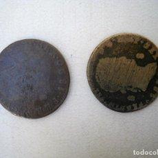 Monedas de España: DOS MONEDAS DE FERNANDO VII. Lote 99749239