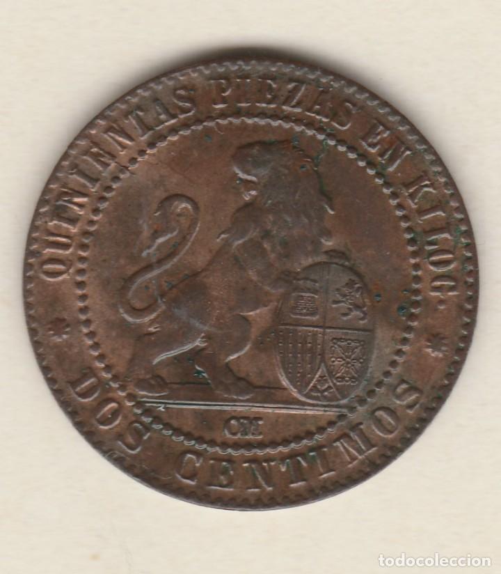 GOBIERNO PROVISIONAL- 2 CENTIMOS- 1870-SC (Numismática - España Modernas y Contemporáneas - De Isabel II (1.834) a Alfonso XIII (1.931))
