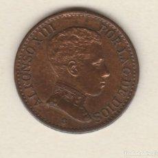 Monedas de España: ALFONSO XIII- 1 CENTIMO- 1906*6- SLV-SC. Lote 99831147