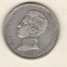 Monedas de España: ALFONSO XIII- 1 PESETA- 1903*19-03 SMV. Lote 99835363